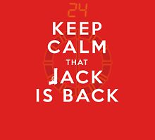 Keep Calm... Jack is back!! Unisex T-Shirt