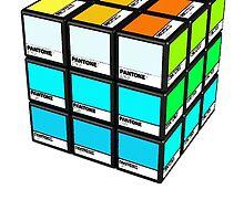 Pantone Cube by artguy24
