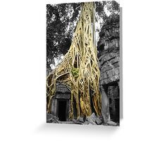 "Jungle Temple ""Siem Reap"" Greeting Card"