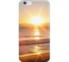 sunset star iPhone Case/Skin