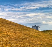 Shed in the Hills by Craig Myers