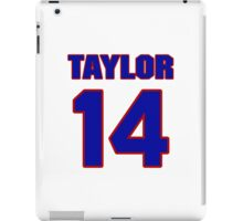 National football player Kerry Taylor jersey 14 iPad Case/Skin