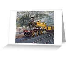 Stroudley's Improved Engine Green Greeting Card