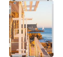 yacht by the fortress iPad Case/Skin