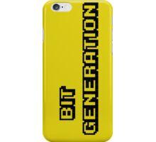 Bit generation. Black version. iPhone Case/Skin