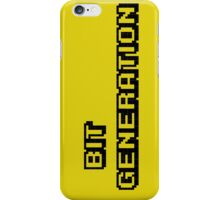 Bit generation. Black version. iPhone Case/Skin