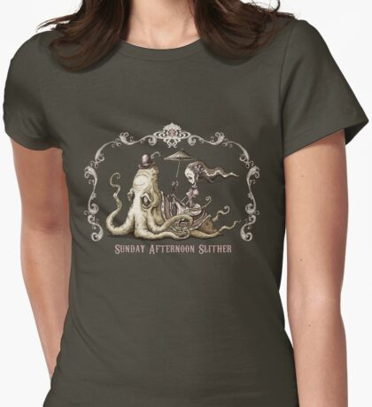 Sunday Afternoon Slither Womens Fitted T-Shirt