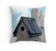 Cottage Home Throw Pillow