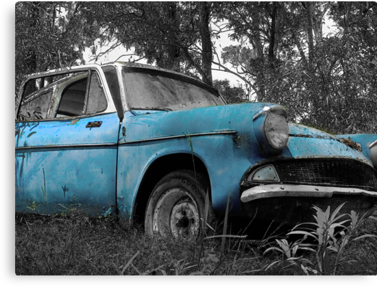 Ford Anglia by Rosalie Dale