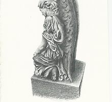 Weeping Angel Statue by jactionman