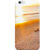 waiting for Christmas by the sea iPhone Case/Skin