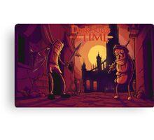 Dark Souls Time Canvas Print