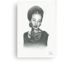 Young Edie Canvas Print