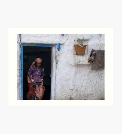 Indian Abode Art Print