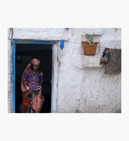 Indian Abode Photographic Print