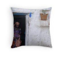 Indian Abode Throw Pillow