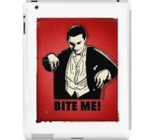 Bite Me iPad Case/Skin
