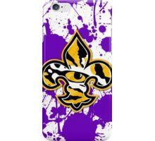 Geaux Tigers Fleur de Lis iPhone Case/Skin