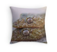Broad Tailed Gecko Australia Throw Pillow