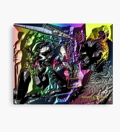 UPTOWN RADIO Canvas Print