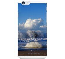 Blue & wihite iPhone Case/Skin