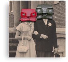 A match (viewmaster) Canvas Print