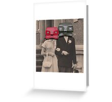A match (viewmaster) Greeting Card