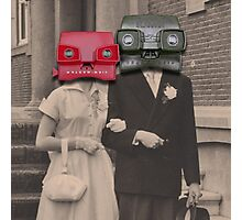 A match (viewmaster) Photographic Print