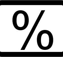 % Percentage Button by 2monthsoff