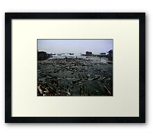Malaysia, Harbour Framed Print
