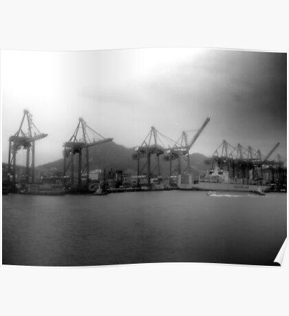Hong Kong, Port Poster