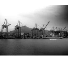 Hong Kong, Port Photographic Print