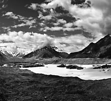 Tasman Glacier, New Zealand by JoshuaStanley