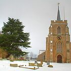 Kimpton Church in the Snow by Roantrum