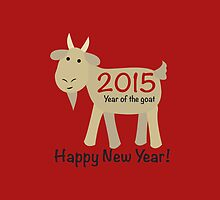Happy New Year! 2015 Year of the Goat by Eggtooth