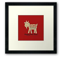 Happy New Year! 2015 Year of the Goat Framed Print