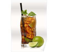 Cuba Libre Cocktail Poster