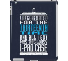Regeneration No. 13 iPad Case/Skin