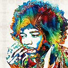 Jimi Hendrix Tribute by Sharon Cummings by Sharon Cummings