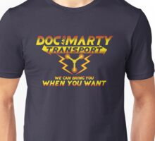 Doc & Marty Transport Unisex T-Shirt