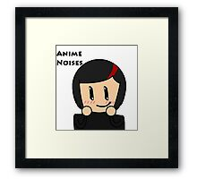 Anime Noises Framed Print