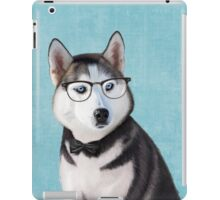 Mr Siberian Husky iPad Case/Skin