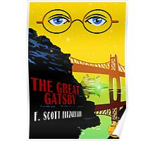 Retro The Great Gatsby Travel Poster Poster