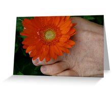 Toe ring Greeting Card