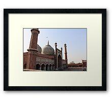 Jama Masjid Framed Print