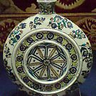 Pilgrim Flask - Islamic Art by Mutahir