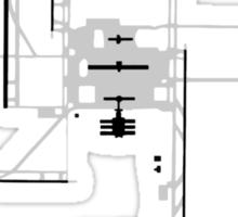 Denver Airport Diagram Sticker