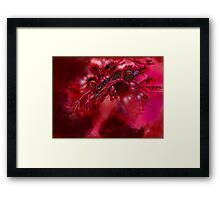 chaos abstract Framed Print