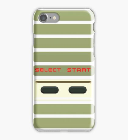 Select - Start NES Pad controller buttons. iPhone Case/Skin