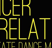 Dancer Relations Penn State Dance Marathon Sticker